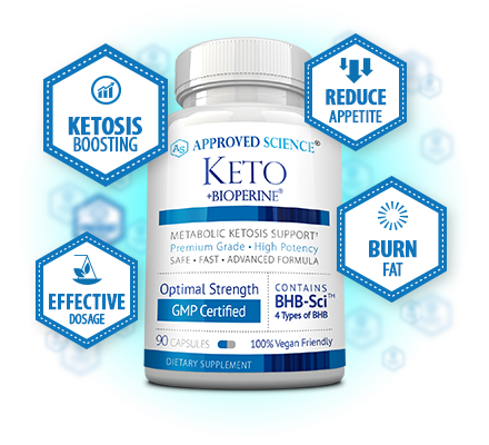 Approved Science Keto Bottle Plus